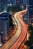 Stream of Traffic, Shanghai Stock Photos