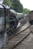 Stream Train Royalty Free Stock Photography