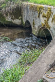 Stream Under Culvert  Stock Images