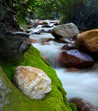 Stream. This stream was taken picture in Lone Pine Campground in California Stock Images