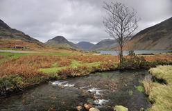 Stream, Wasdale, Cumbria. One of the many crystal clear tributarys, that flow into Wast water, in Wasdale, Cumbria, UK. One of Englands deepest lakes Royalty Free Stock Image