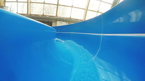 Stream on water attraction stock footage