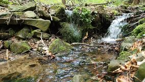 Stream of water stock video footage