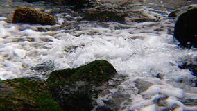 The stream of water stock video footage
