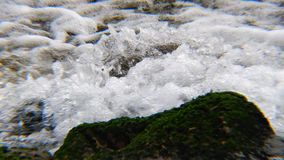 The stream of water stock footage