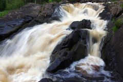 Stream waterfall Stock Images