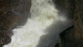 Stream Waterfall Between Stones stock footage