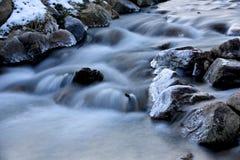 Stream in winter Royalty Free Stock Photo
