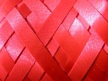 streamer czerwona tekstura Obrazy Royalty Free