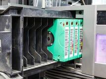 Streamer, tape library for data backup Stock Photography