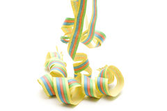 Streamers touched Royalty Free Stock Photography