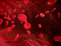 Streaming blood Royalty Free Stock Image