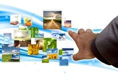 Streaming concept Stock Photos