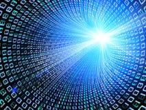 Streaming Data Stock Photo