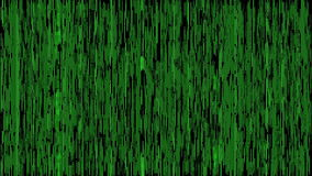 Streaming data screen (loop able) stock footage