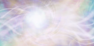 Streaming ethereal energy background Stock Photos