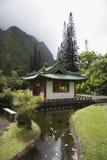 Streamm que lleva a la pagoda. Fotos de archivo libres de regalías