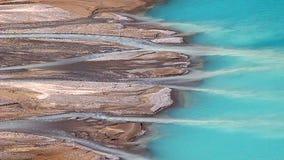 Streams feed Peyto Lake stock footage