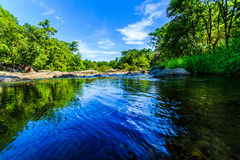 Streams and rivers. Natural sources are called whitewater rapids orange cat Ratchaburi , Thailand royalty free stock image