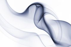 Streams of a smoke Stock Image