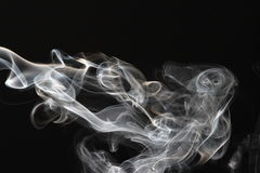 Streams of a smoke Stock Photo