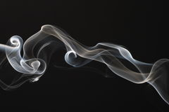 Streams of a smoke Stock Photos