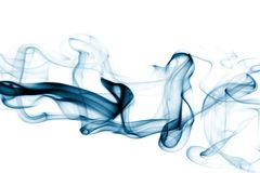 Streams of a smoke Royalty Free Stock Image