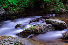 Streams in the valleys Royalty Free Stock Photo
