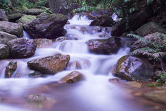 Streams and waterfalls Royalty Free Stock Photography