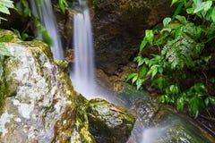 Streams and waterfalls Royalty Free Stock Photos