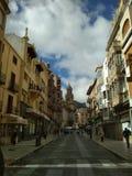Streat Jaén Imágenes de archivo libres de regalías