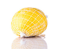 Τυρί στάρπης Streched στο άσπρο υπόβαθρο Στοκ Εικόνες