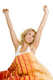 Streching in the morning Stock Photography