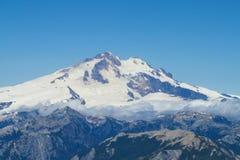 Strecke Cerros Tronador Anden, Argentinien stockbilder
