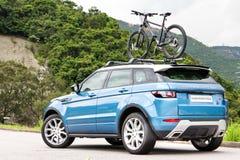 Strecke Rover Evoque 2014 Stockbilder