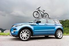 Strecke Rover Evoque 2014 Lizenzfreie Stockfotos