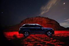 Strecke Rover Sport Stockfotografie