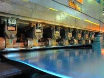 Strecker bedeckt Maschine Stockbild