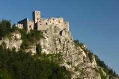 Strecno城堡,斯洛伐克 免版税库存照片