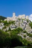 Strecno Castle Stock Image