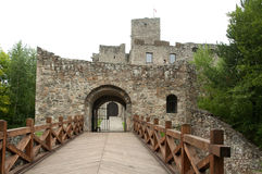 Strecno Castle Stock Photography