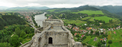 Strecno Castle Royalty Free Stock Photo