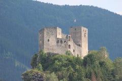 Strecno castle ruins Royalty Free Stock Photos