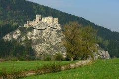 Strecno Castle, Slovakia Stock Photo