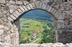 Strecno castle, Slovakia Stock Photos