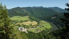 Strecno, Mala Fatra, Slovakia Royalty Free Stock Photography