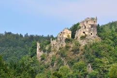 Strecno Stary Hrad, Slowakei Lizenzfreies Stockbild
