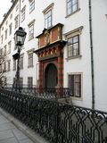 Stree in the central area of Vienna Stock Image
