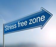 Stree free zone concept. Stock Image