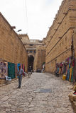 Stree in Jaisalmer Royalty Free Stock Photography